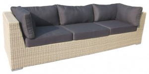 Sofa technorattanowa WEST (3-osobowa)
