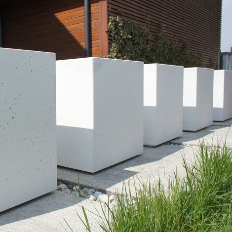 Donice Betonowe Z Betonu Architektonicznego Ogrodolandiapl