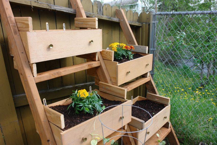 Recykling W Ogrodzie Pomysłowe Dekoracje Na Wiosnę