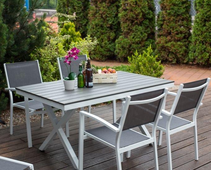 Meble Ogrodowe Aluminiowe Zestaw Ogrodowy Ibiza Opinie