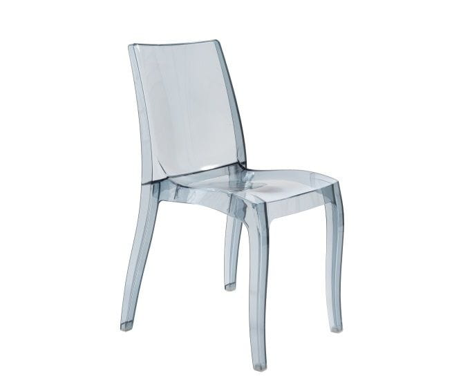 Przeźroczyste krzesło CRISTAL LIGHT