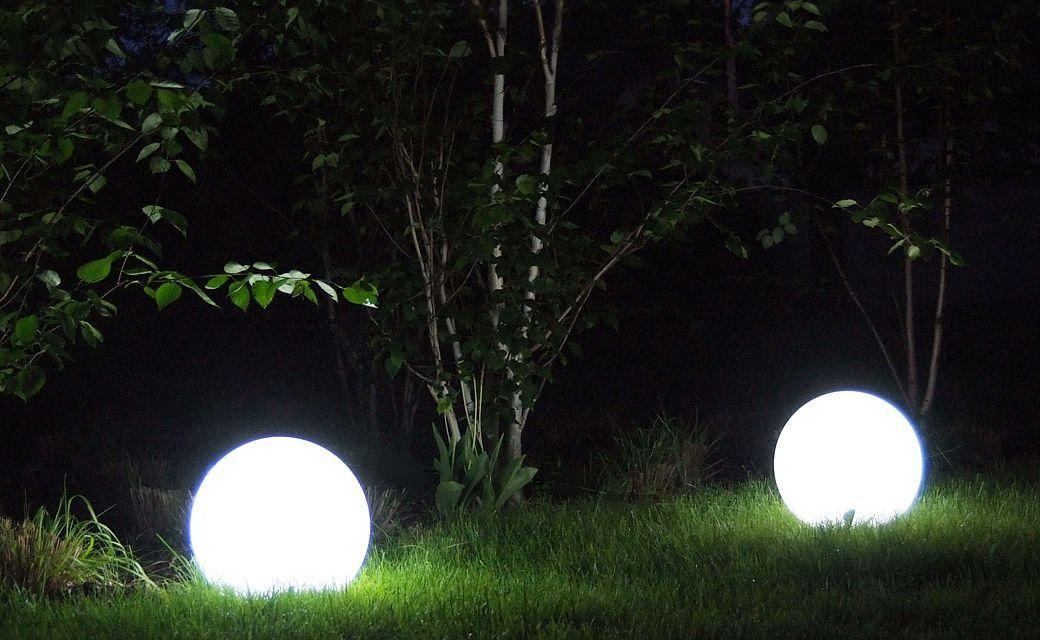 kule oswietlenie lampy do ogrodu